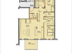 Einzelgrundriss Wohnung WE04