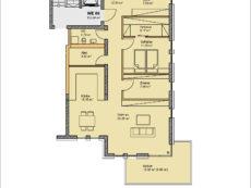 Einzelgrundriss Wohnung WE06