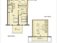 Einzelgrundriss Wohnung WE13