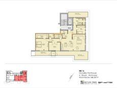 optional! WE16, großes Penthouse als 4-Raum mit Dachterrassen
