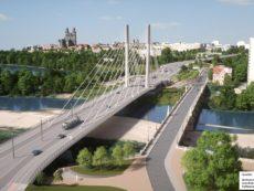 neue Strombrücke über die Alte Elbe