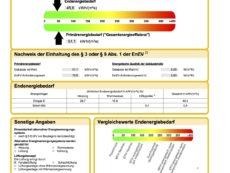Energieausweis WE082