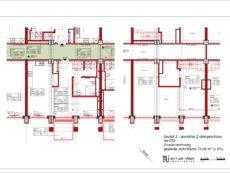 Grundriss Wohnung WE032